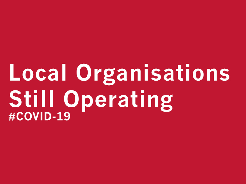 COVID-19: Organisations Still Operating