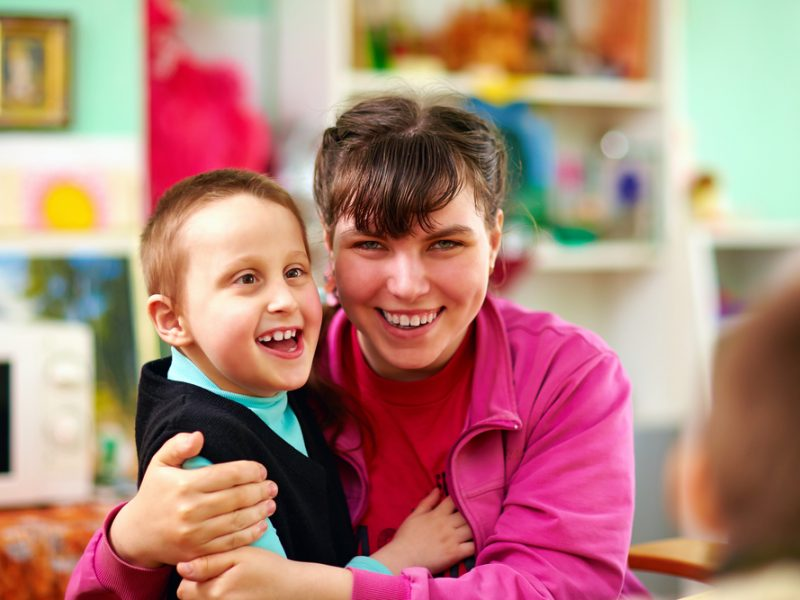 All children need love and a child with disabilities is no different