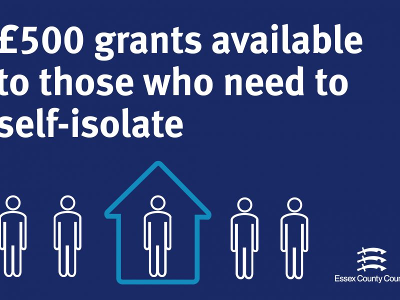 Grants available to help Essex residents self-isolate